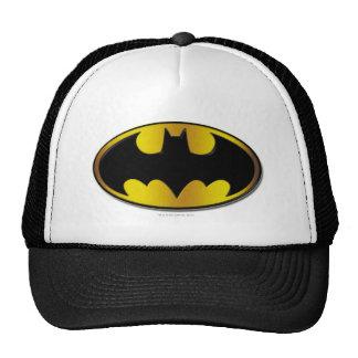 Logotipo del óvalo de Batman Gorras De Camionero