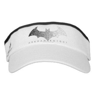 Logotipo del pixel del caballero de Batman Arkham Visera