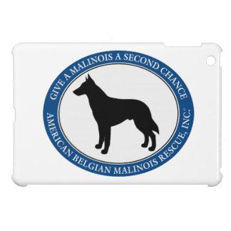 Logotipo del rescate de Malinois,