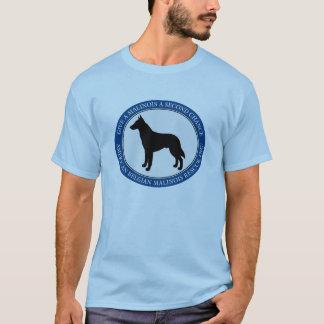 Logotipo del rescate de Malinois de la camiseta
