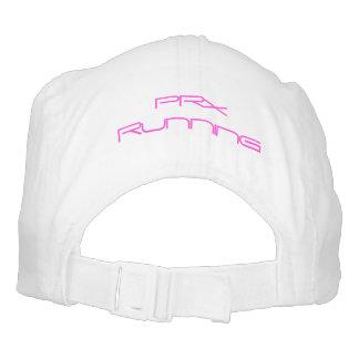 Logotipo del rosa del gorra de PRx
