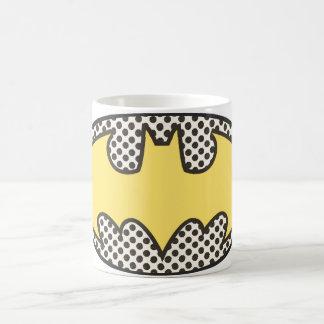 Logotipo del símbolo el | Showtime de Batman Taza De Café