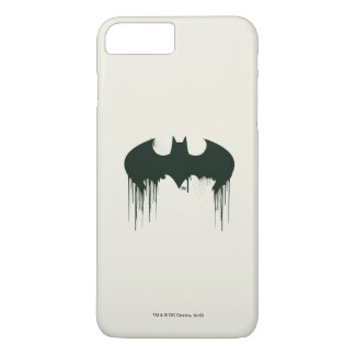 Logotipo del símbolo el | Spraypaint de Batman Funda iPhone 7 Plus