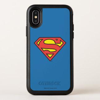Logotipo del superhombre del S-Escudo el | del