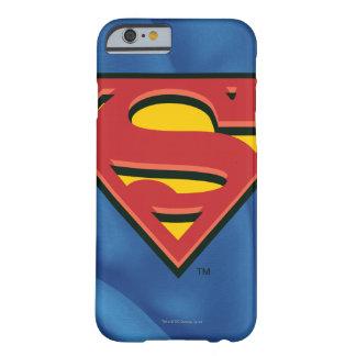 Logotipo del superhombre funda para iPhone 6 barely there