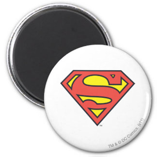 Logotipo del superhombre iman