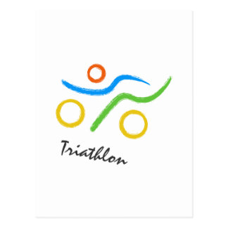 Logotipo del Triathlon Postal