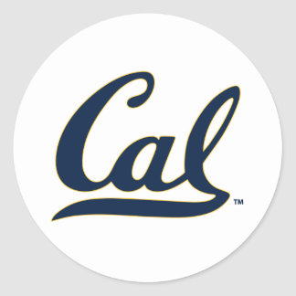 Logotipo del UC Berkley Pegatina Redonda