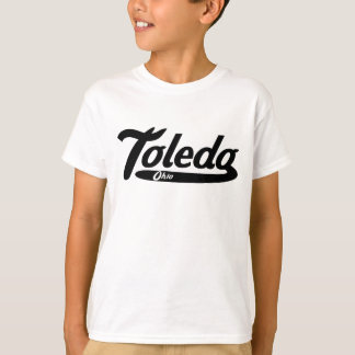 Logotipo del vintage de Toledo Ohio Camiseta