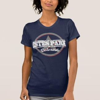 Logotipo del vintage del parque de Estes Camisetas