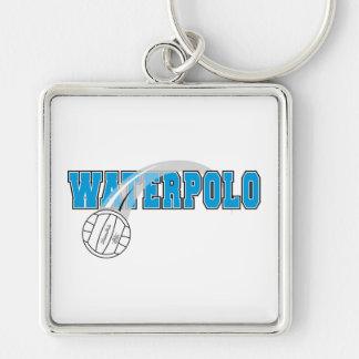 logotipo del waterpolo llaveros