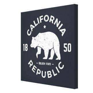 Logotipo el | de California el Golden State Lienzo