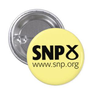 Logotipo escocés del fiesta (SNP) nacional Chapa Redonda De 2,5 Cm