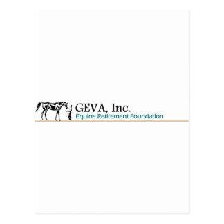 Logotipo escrito GEVA Postal
