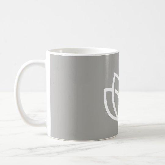Logotipo externo de la belleza de la paz interna - taza de café