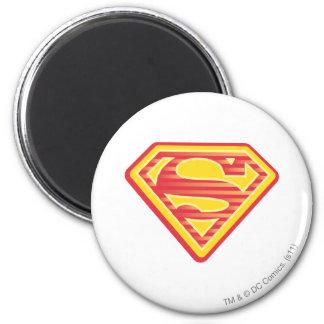 Logotipo Far-Out de Supergirl Imán Redondo 5 Cm