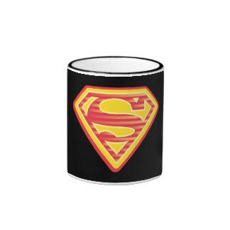 Logotipo Far-Out de Supergirl Taza De Dos Colores