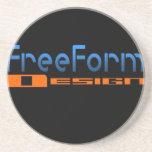 Logotipo FreeForm del diseño Posavasos Cerveza