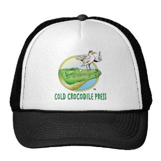 Logotipo frío de la prensa del cocodrilo gorras