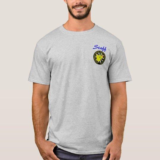 logotipo grande del srda, personal camiseta