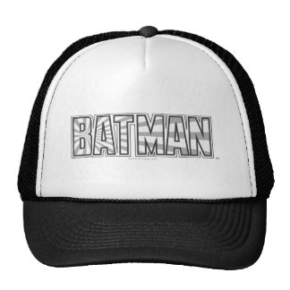 Logotipo gris de Batman el | Starbust Gorro De Camionero