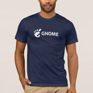 Logotipo horizontal del GNOMO Camiseta