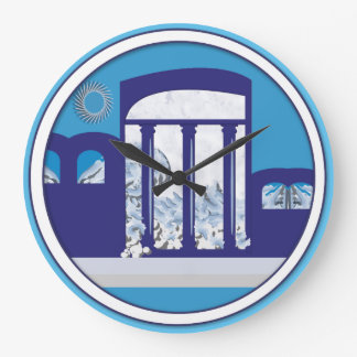 LOGOTIPO IDEAL MEDITERRÁNEO (grande) redondo Reloj Redondo Grande