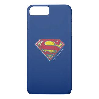 Logotipo impreso el | del S-Escudo del superhombre Funda iPhone 7 Plus