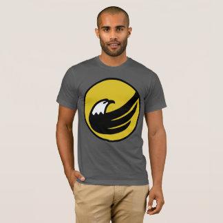 Logotipo libertario de Eagle del fiesta Camiseta