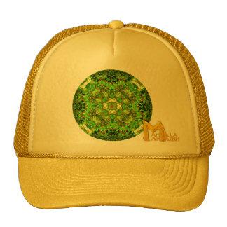 """Logotipo mandarín de la mandala"" del embutido"" de Gorra"