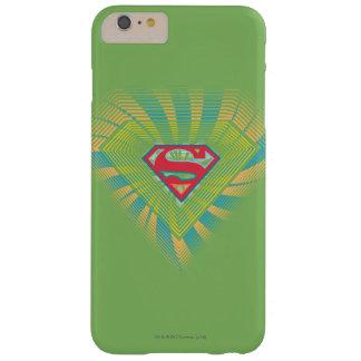 Logotipo maravilloso 2 de Supergirl Funda De iPhone 6 Plus Barely There