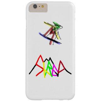 Logotipo multicolor del fragmento funda barely there iPhone 6 plus