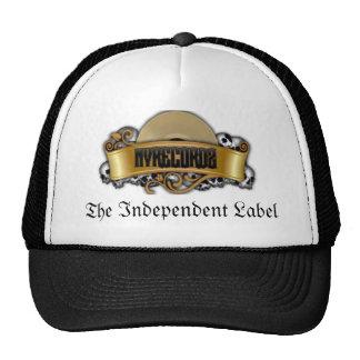 logotipo nanovoltio gorras de camionero