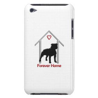 Logotipo negro para siempre casero de Pitbull iPod Touch Case-Mate Carcasas