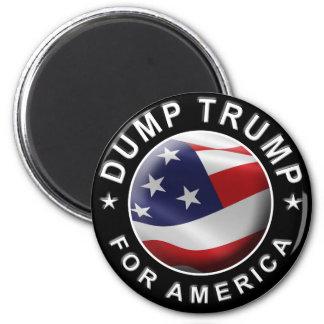Logotipo oficial de DumpTrumpforAmerica Imán