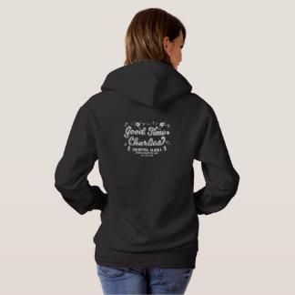 Logotipo oscuro de la sudadera con capucha F/B de