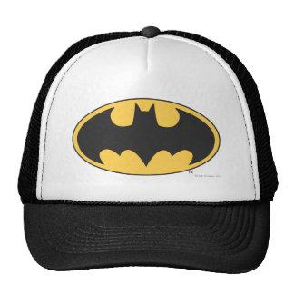 Logotipo oval del símbolo el   de Batman Gorro