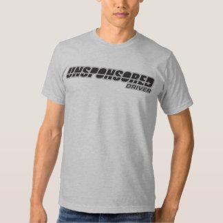 Logotipo patrocinado por la ONU del conductor Camiseta