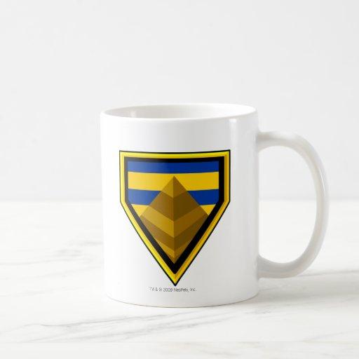 Logotipo perdido del desierto del equipo tazas