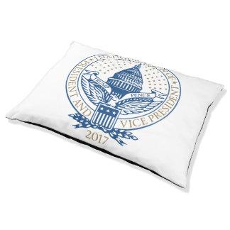 Logotipo presidencial 2017 de los peniques del cama para mascotas
