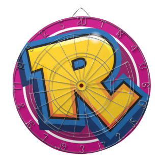 Logotipo reducido de la rotura tablero de dardos