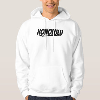 Logotipo retro de Honolulu Sudadera