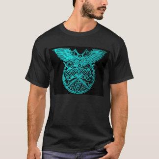 Logotipo ritual satánico de la célula del terror camiseta