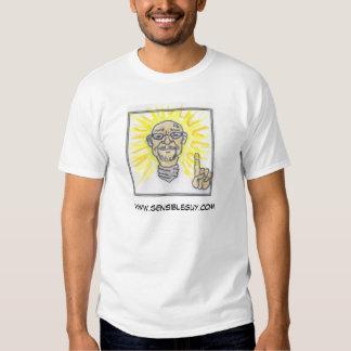 logotipo sensibleguy camiseta