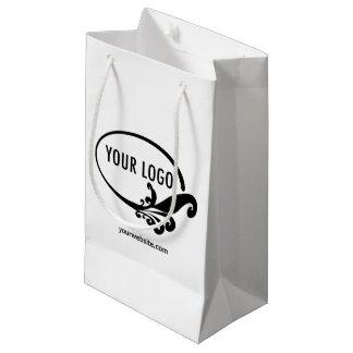 Logotipo Small Gift Bag Custom Company promocional Bolsa De Regalo Pequeña