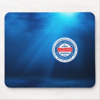 Logotipo subacuático Mousepad Alfombrilla De Ratón