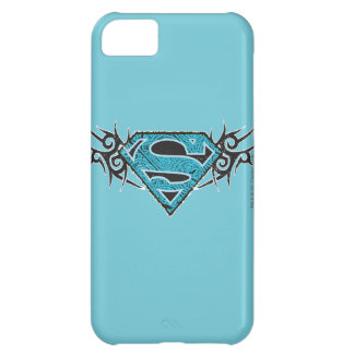 Logotipo tribal del modelo de Supergirl Carcasa Para iPhone 5C