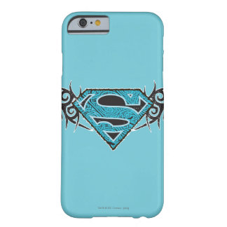 Logotipo tribal del modelo de Supergirl Funda Para iPhone 6 Barely There