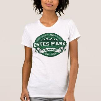 """Logotipo verde de Colorado"""" del parque de Estes Camisetas"""