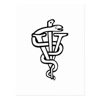Logotipo veterinario postal